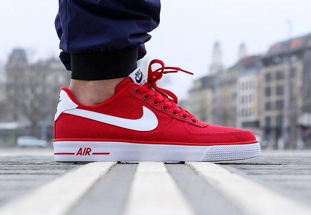 finest selection a284d 52a12 Nike Air Force 1 AC - University Red - White - SneakerNews.com