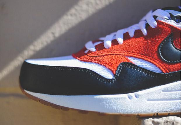 Nike Air Max 1 Essential Black Gamma Orange Gum