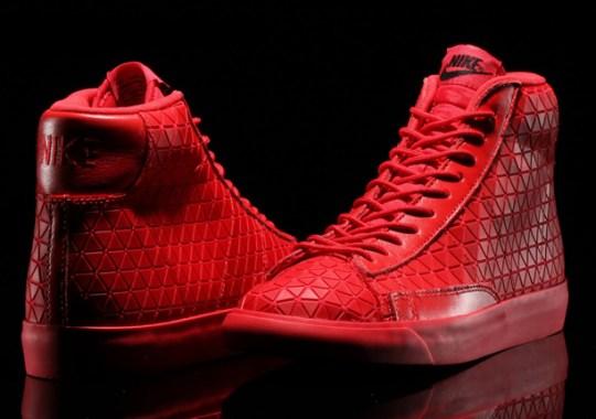 "Nike Blazer Mid Metric ""University Red"" – Release Date"