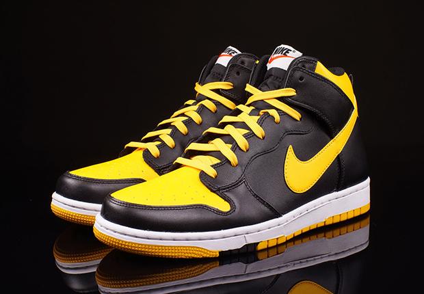 nike air max 2010 noir - Nike Dunk High CMFT \u0026quot;University Gold\u0026quot; - SneakerNews.com
