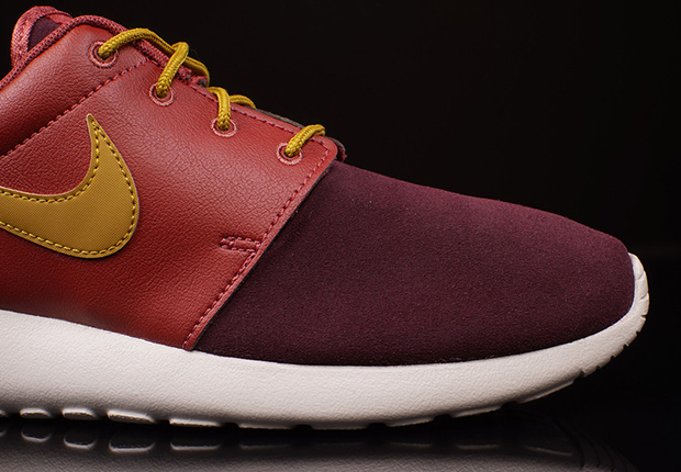22021729b0d4 Nike Roshe Run - Cedar - Bronzine - Deep Burgundy - SneakerNews.com