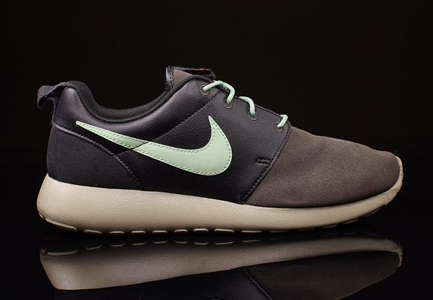 Nike Roshe Courir Prime - Brouillard Minuit - Vert Émail