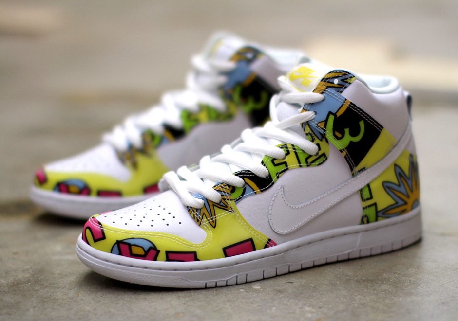 Nike SB Dunk High De La Soul Sz10