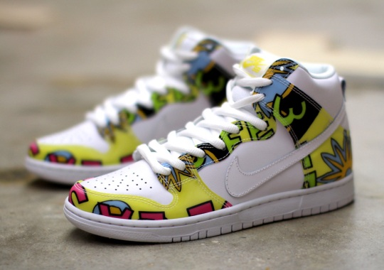 "Nike SB Dunk High ""De La Soul"" – Release Reminder"