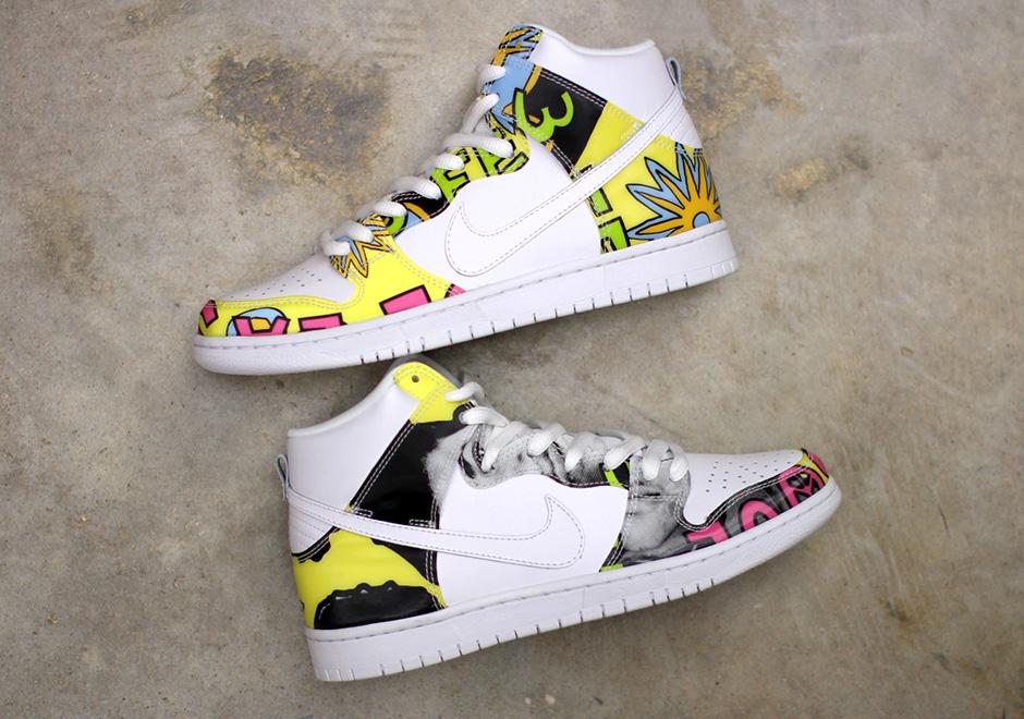 Nike Dunk Sb Alto Premio 'de La Soul Ebay Acquisto iup5GT7Z7A