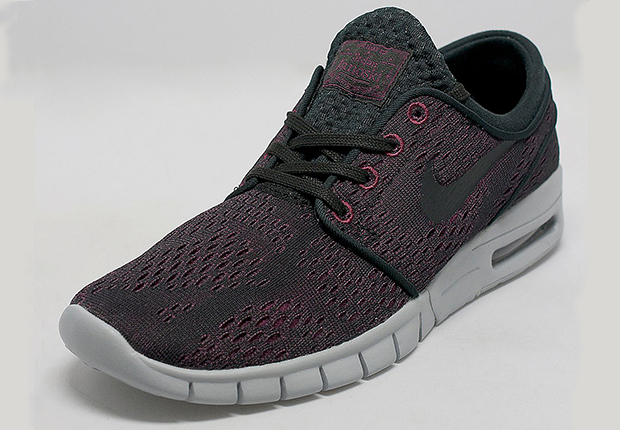 Nike Chaussures De Maille Stefan Janoski Max Rouge