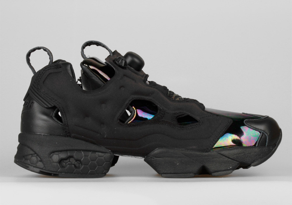 a detailed look at the sandro x reebok insta pump fury. Black Bedroom Furniture Sets. Home Design Ideas