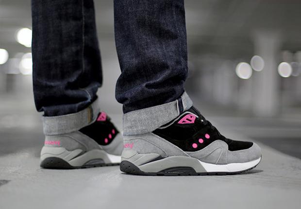 99d6c84863 Saucony G9 Master Control Premium - Grey - Black - Pink ...