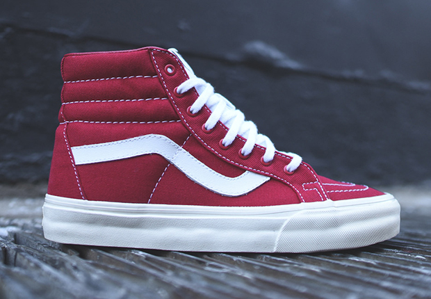 "27ae6c9c5ec Look for the Vans Sk8-Hi Reissue ""10 oz Canvas"" now at finer Vans  suppliers"