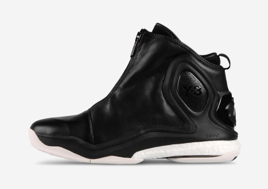 Y-3 Re-creates the adidas D Rose 5 Boost