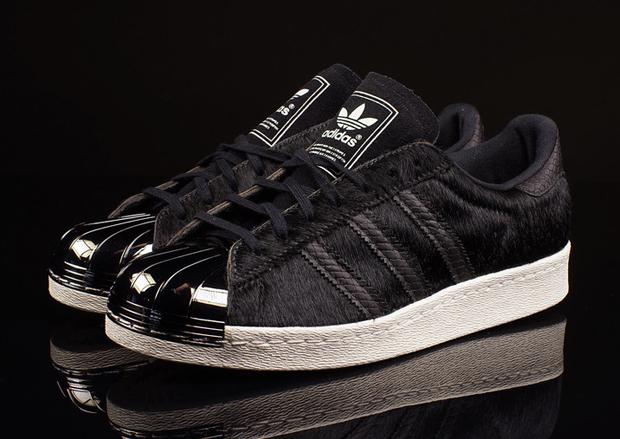 adidas superstar 80's metal toe damen sneaker