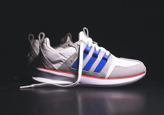 adidas SL Loop Runner – White – Bluebird – Red