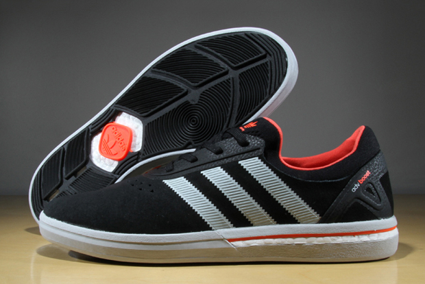 brand new afa05 ed002 adidas Unveils First Boost Skateboarding Shoe - SneakerNews.