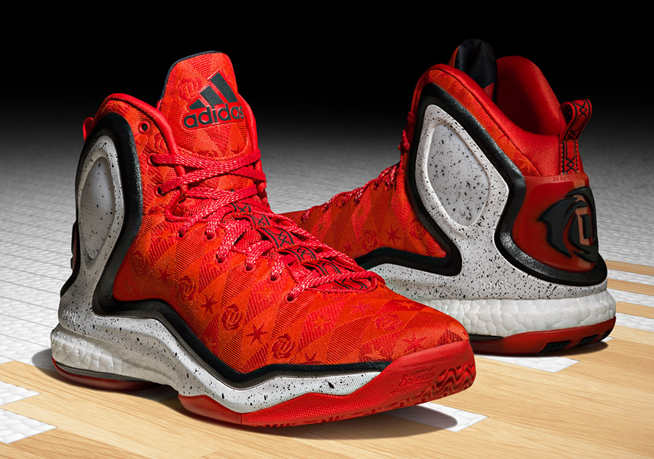 Derrick Rose Shoes Black And Red