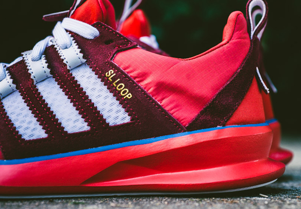 Adidas Sl Loop Runner Red Royal