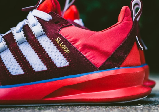 adidas SL Loop Runner – Red – Royal