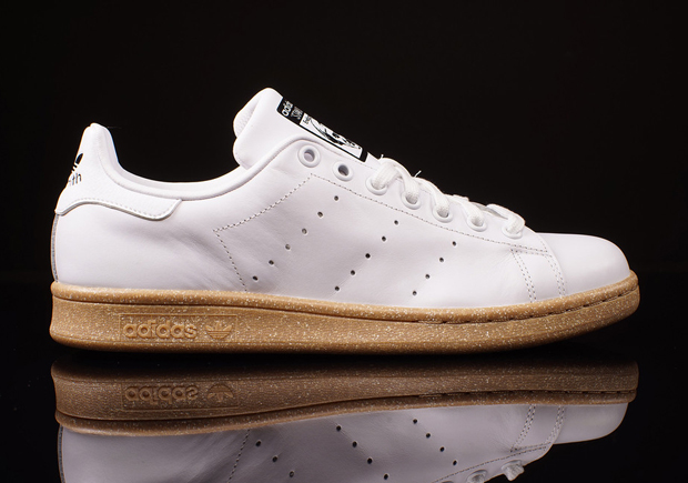 8e9066070314 adidas Originals Stan Smith - White - Gum - SneakerNews.com