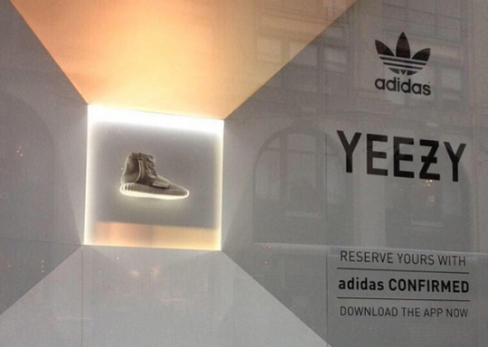 adidas Yeezy On Display in NYC, Confirmed for All-Star Weekend Release