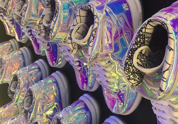 Nike Air Force 1 'Iridescent' Option on NikeiD SneakerFiles  SneakerFiles