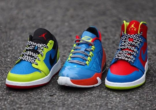 """Air Jordan 1 GS """"Racer"""" Pack"""