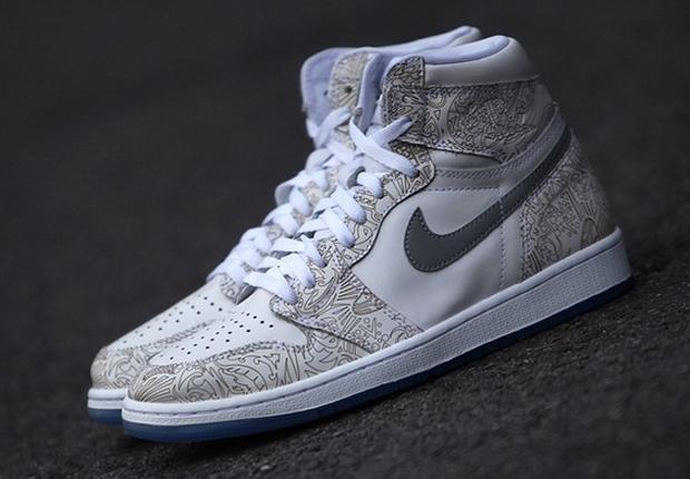 0f834a335369fe Jordan Brand Brings Back Laser Print with the Air Jordan 1 Retro High