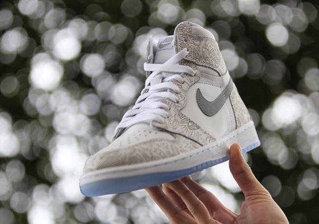 Jordan Brand Brings Back Laser Print with the Air Jordan 1 Retro High -  SneakerNews.com