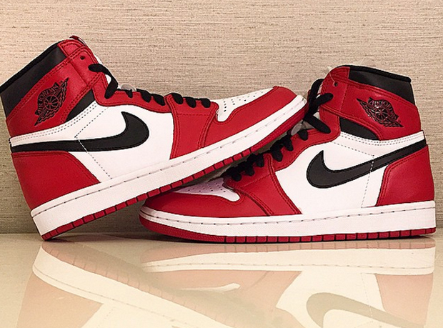 "The Air Jordan 1 Retro High OG ""Bulls"" will release on May 30th, 2015. This iconic colorway was first released in early 2013, but did not feature the prized ..."