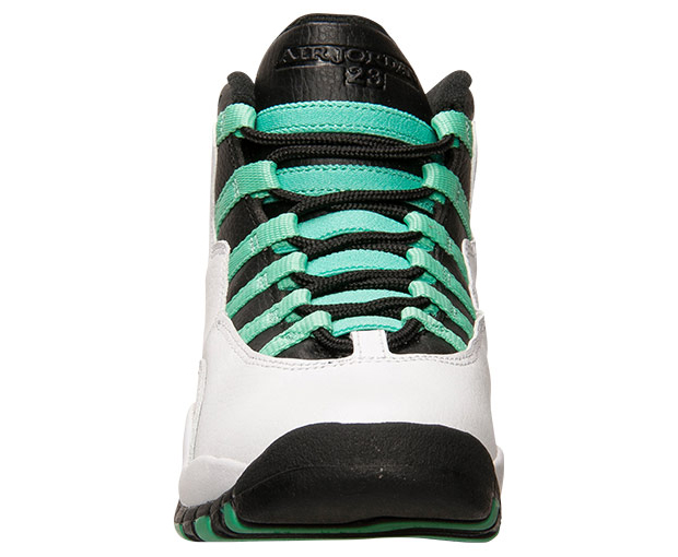c5a6aedfe75727 ... new zealand air jordan 10 retro gg color white verde black infrared 23.  style code
