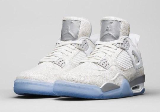 """Air Jordan 4 """"Laser"""" – Release Date"""
