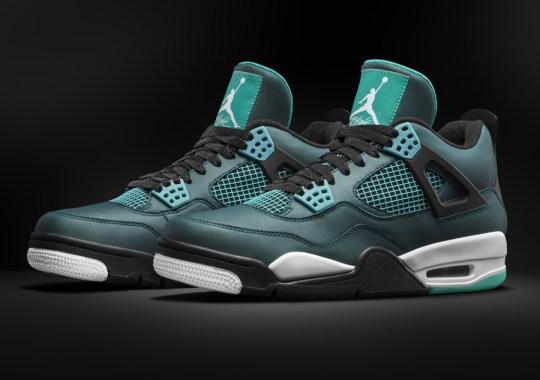 """Air Jordan 4 """"Teal"""" – Release Date"""
