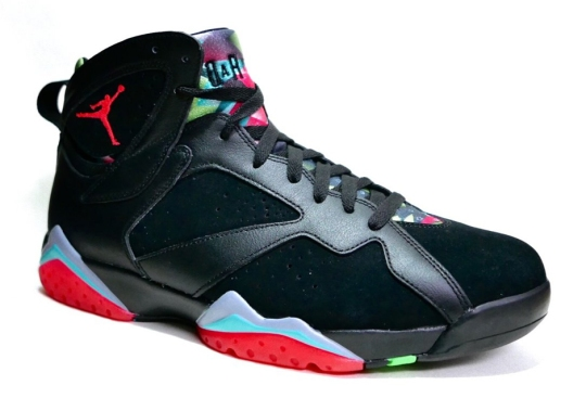 Air Jordan 7 – Black – Blue Graphite – Retro