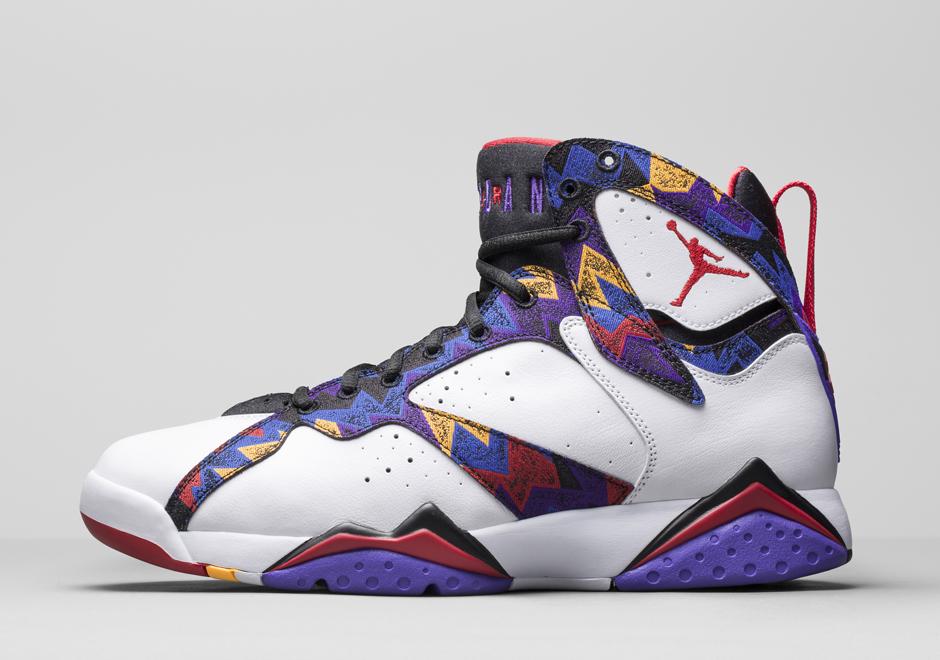 Jordan Brand Recalls MJs Sweater Print for this Air Jordan 7   SneakerNewscom