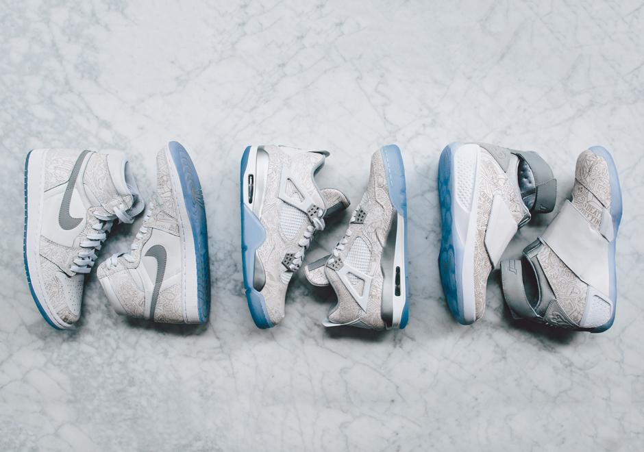 44a483424fe0e Air Jordan Retro Laser Collection for 2015 All-Star - SneakerNews.com