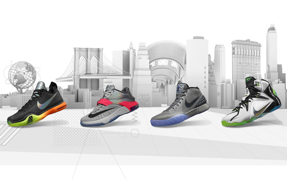 """81b2f34faa6 Nike Basketball """"All-Star"""" Collection Inspired by Famous NYC Landmarks"""