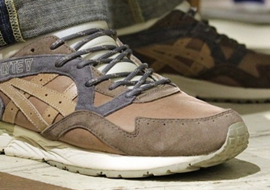 """check out 34ae5 c2479 Commonwealth x Asics Gel Lyte V """"Da Vinci"""" Preview"""