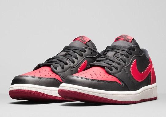 "Air Jordan 1 Retro Low OG ""Bred"" – Nikestore Release Info"