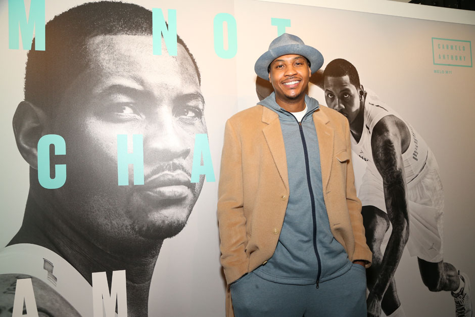 Carmelo Anthony Unveils Fashion Collabs at Melo Made Event
