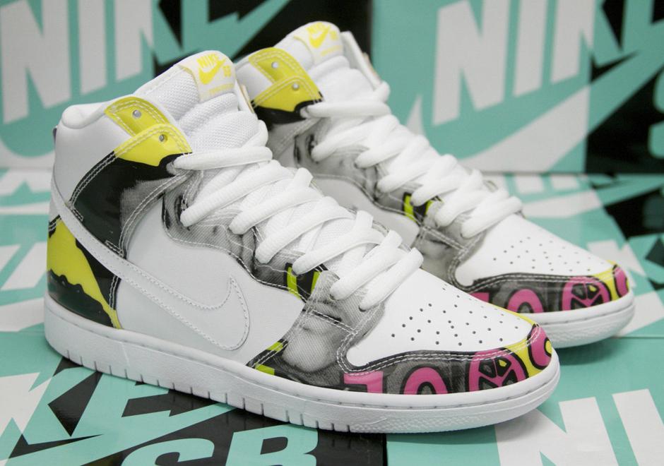 """100% authentic 74959 1b52e Nike SB Dunk High """"De La Soul"""" – Release Date"""