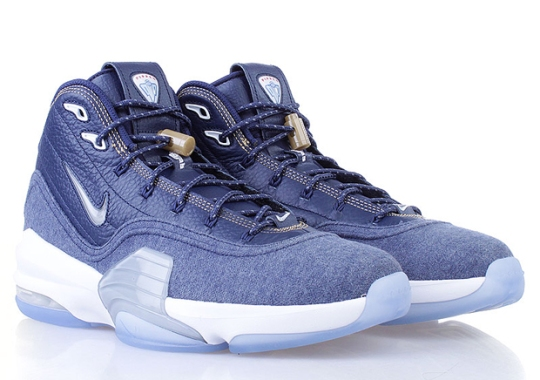 """A Detailed Look at the Nike Air Pippen 6 """"Denim"""""""