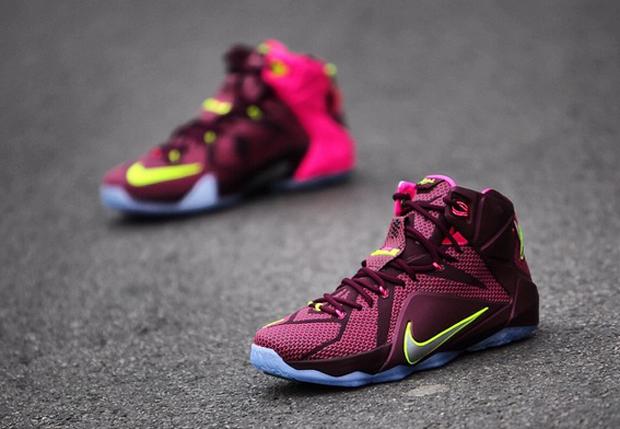Quot Double Helix Quot Nike Lebron 12 Sneakernews Com