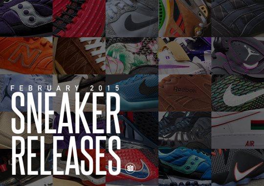 February 2015  Sneaker Releases