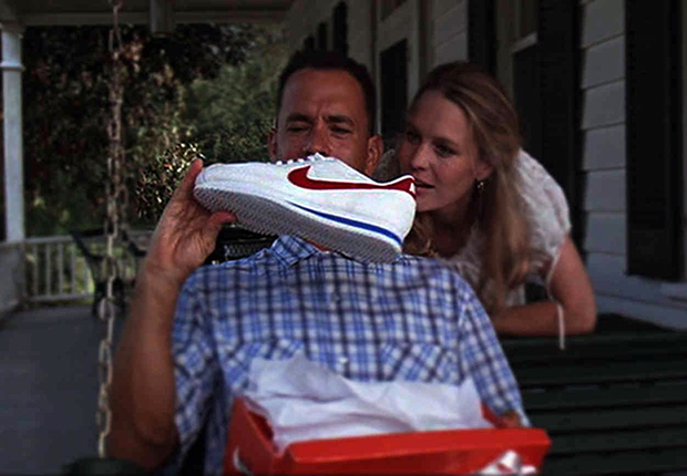 cheap for discount 496c3 f6e3d Forrest Gump Nike Shoes | SneakerNews.com