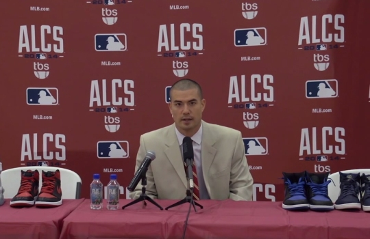 Jeremy Guthrie Retires From the Sneaker Game With Awesome Press Conference