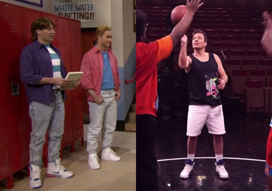 Jimmy Fallon Gets '90s Sneakers Right on Saved By The Bell and Fresh Prince Skits