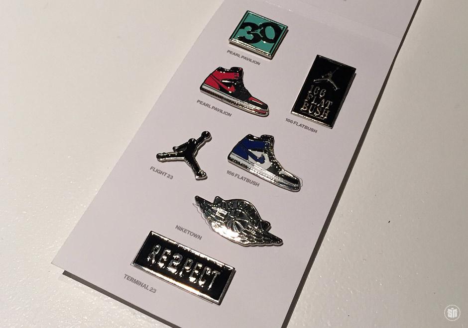 e067227a02a Jordan Brand 30th Anniversary Pin Collection - SneakerNews.com