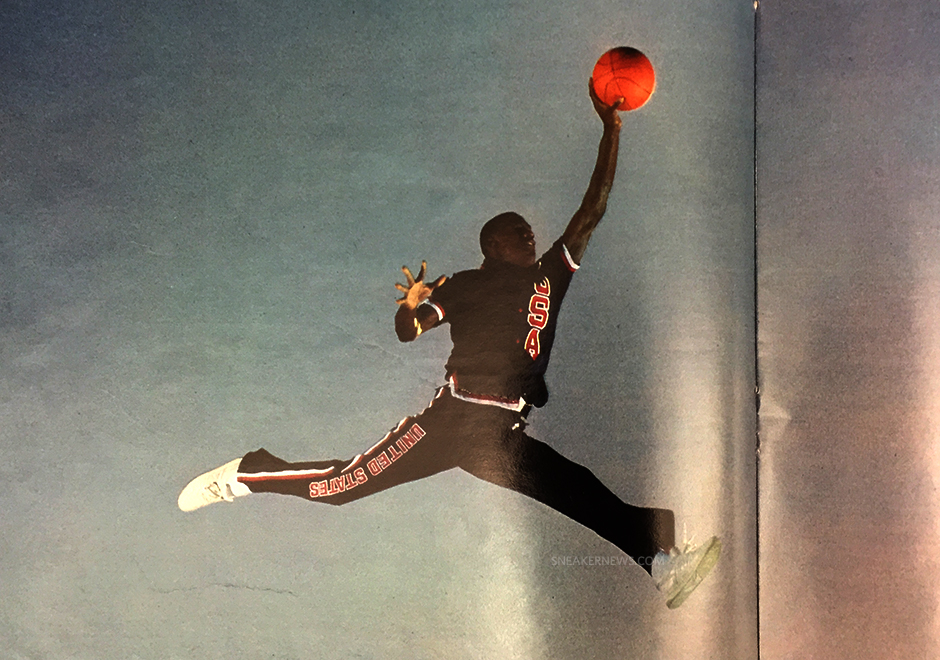 1cb75a2b174121 Michael Jordan Was Wearing New Balance Sneakers in the Original