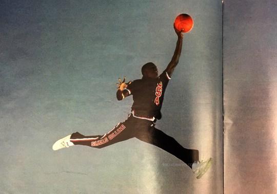 "Michael Jordan Was Wearing New Balance Sneakers in the Original ""Jumpman"" Photo"