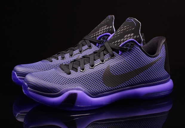 "53cbf16998cb The Nike Kobe 10 ""Blackout"" releases tomorrow. February 21st. This look  isn t quite a Blackout in terms of aesthetics"