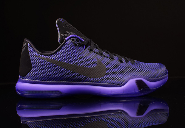 buy online 5220e 538cc where can i buy nike kobe 10 blackout color black black persian violet  style code 745334
