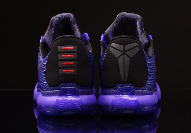 "9f62ab0e1929 Nike Kobe 10 ""Blackout"" Color  Black Black-Persian Violet Style Code   745334-005. Release Date  02 21 15. Price   180"